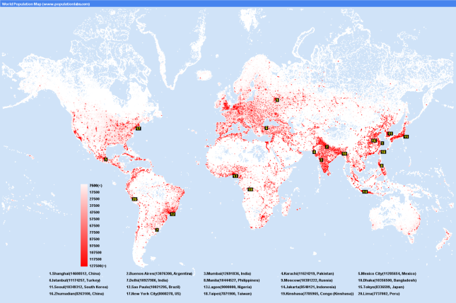 World_Population_Map